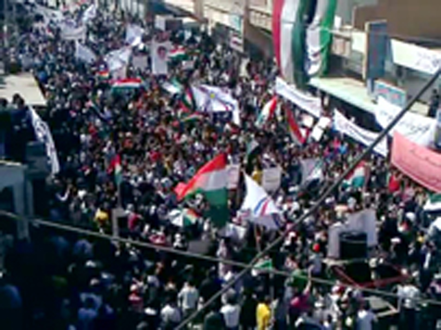 SYRIA-POLITICS-UNREST