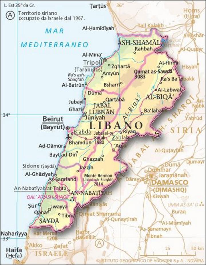 Cartina Libano E Israele.Libano Una Moderna Legge Elettorale Arabpress