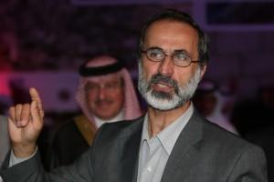 Francia Hollande riceve il capo dell'opposizione siriana