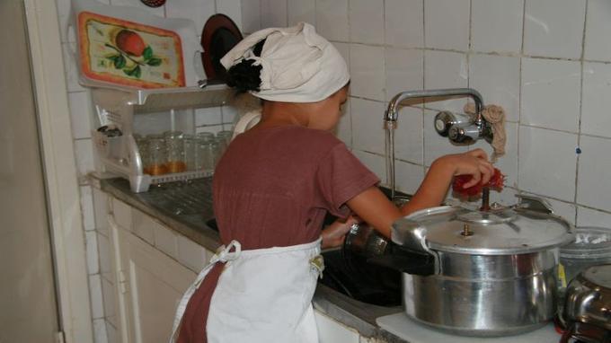 lavoro domestico minorile