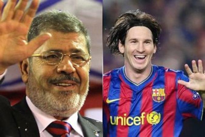 Messi e Morsi