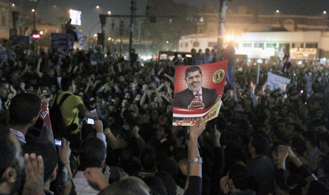 manifestazioni pro Morsi