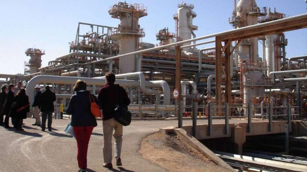 impianto a gas algeria