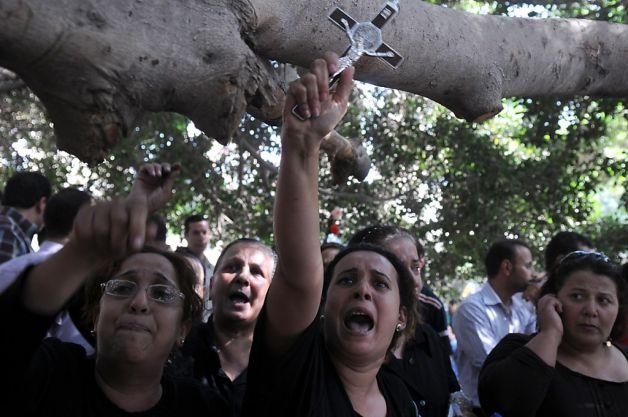 sit-in copti cairo