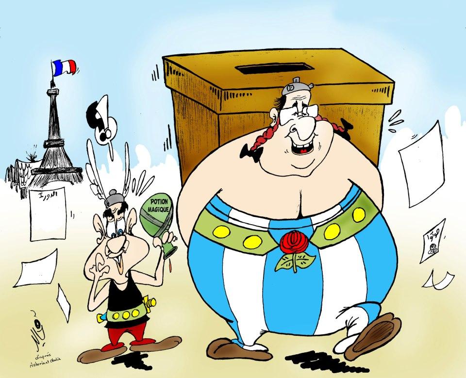 Obelix (Hollande ) in Marocco .... di Khalid Gueddar
