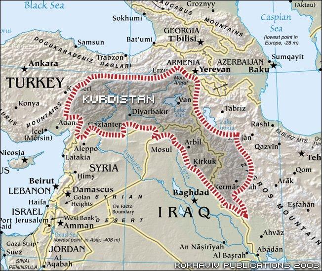 Un Kurdistan indipendente