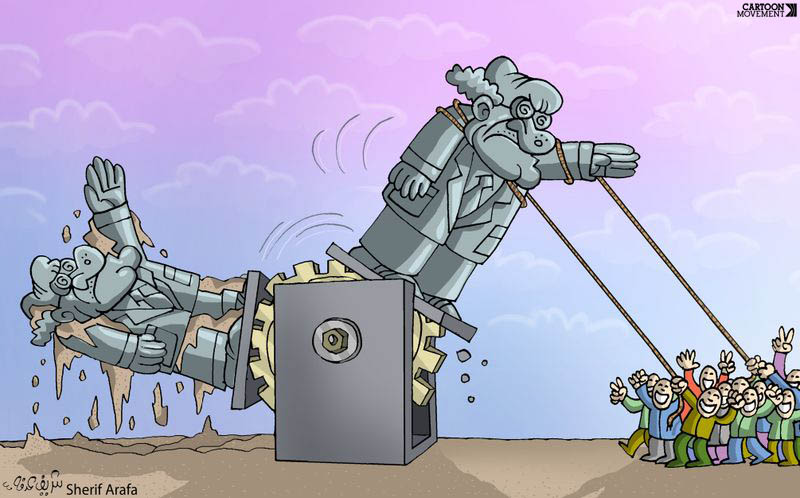 Cambio di dittatore ..... di Sherif Arafa