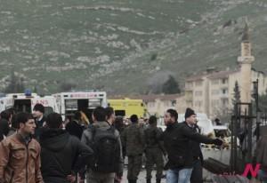 confine turco-siriano, esplosioni