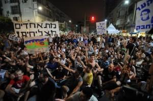 israele, proteste