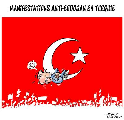 Anti Erdogan .... di Ali Dilem