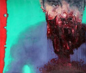Tarek Tuma - Ritratto di Hamza Bakkour