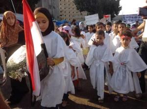 استخدام الإخوان الأطفال فى المسيرات