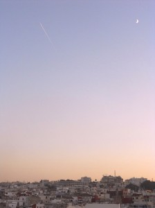Luna su Tangeri