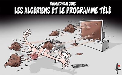 gli algerini e i programmi televisivi