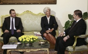egypt-imf-loan-morsi-lagarde (1)
