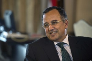 Nabil Fahmy, ministro degli Esteri egiziano