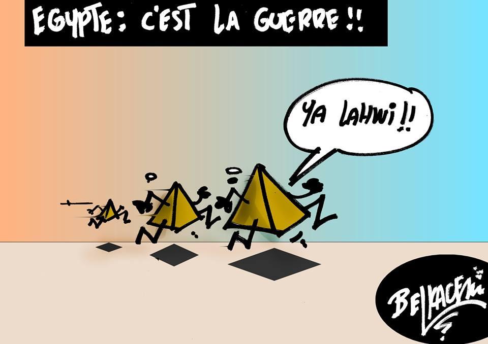Piramidi in fuga ...... di Belkacem