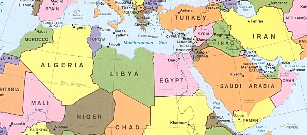 Mondo Arabo Cartina.Riscoprendo Il Mondo Arabo Arabpress