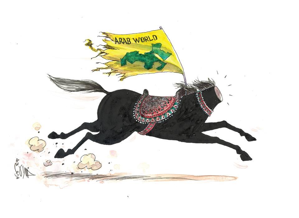 cavallo arabo...... di Alhashimi