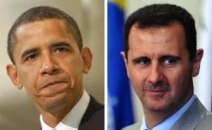 Siria, obama Assad