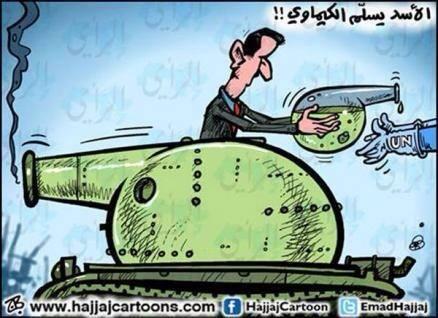 Armi chimiche ... di Emad Hajjaj