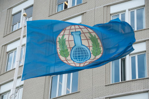 Flag of the OPCW The Hague