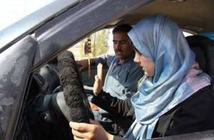 donne saudite alla guida