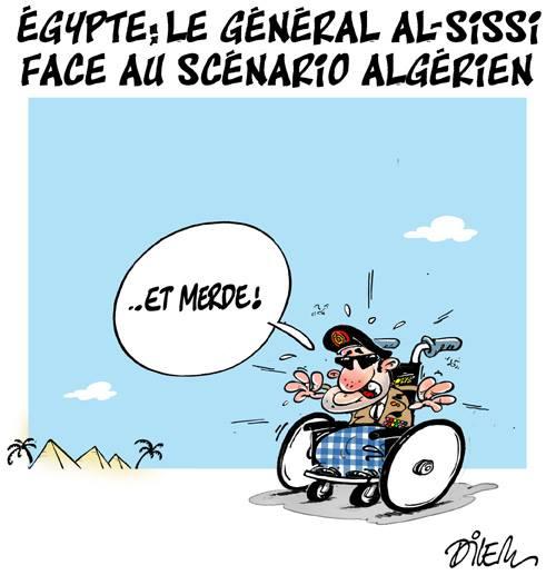 Egitto; il generale Al-Sissi si rivolge allo scenario algerino