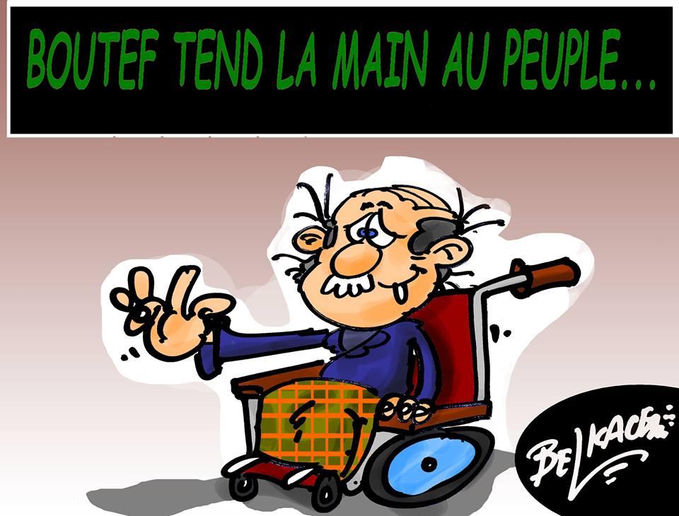 Algeria, Bouteflika tende la mano al popolo ...... di Belkacem