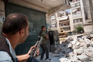 scontri Siria