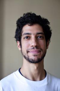 L'artista Abdel Mohsen