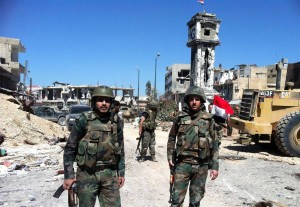 Syiria crisis: Qusayr victory in pictures
