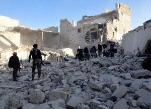 News 16 dci Aleppo raid