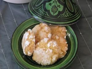 Ricetta ghribas cocco