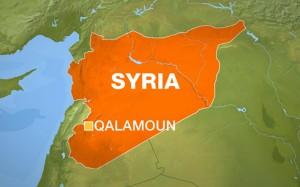 Syria Map Qalamoun