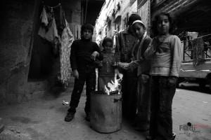 I bambini di Yarmouk in uno scatto di Fadi Khattab