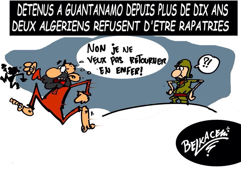 Due detenuti algerini non vogliono tornare