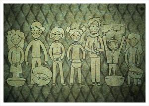 Sumir Salam per Yarmouk, la protesta dei bambini per il cibo