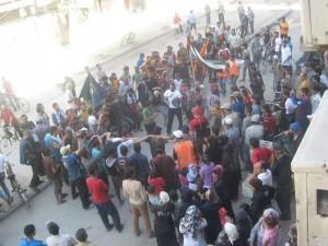 Ieri, 26 giugno, a Yarmouk si ballava la dabka