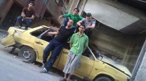 I ragazzi del coro di Yarmouk
