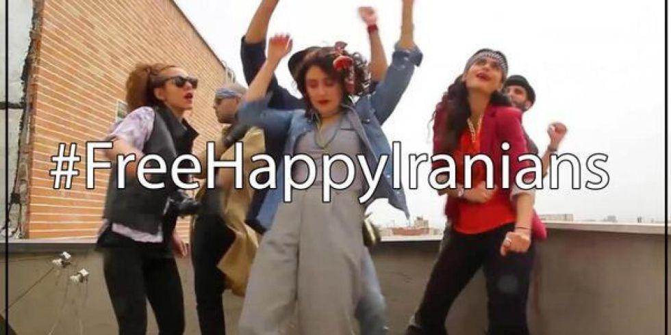 #freehappyiranians