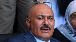 L'ex presidente yemenita Ali Abdullah Saleh