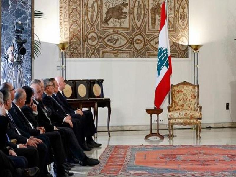 libano vuoto presidenziale