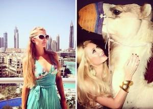 Dubai moda Paris Hilton