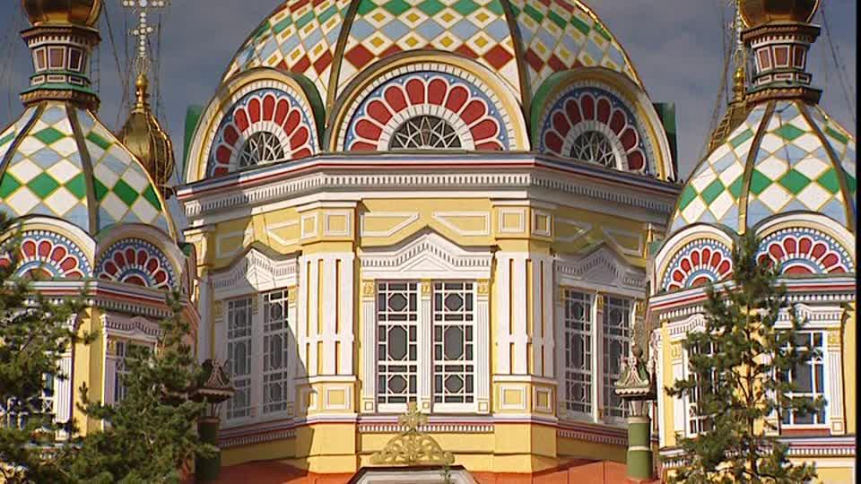 Cattedrale ortodossa di Zenkov, Almaty