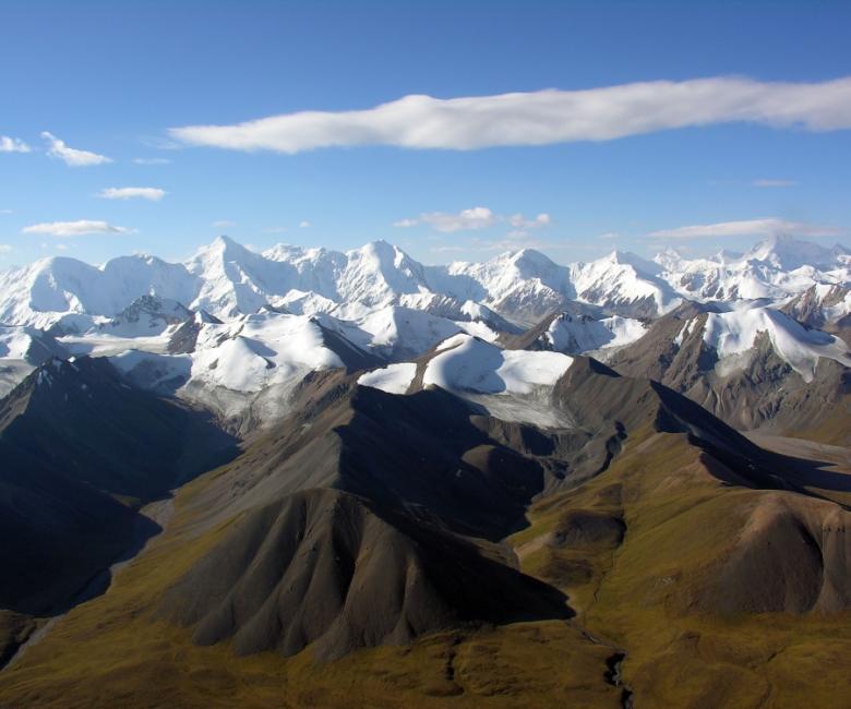 Montagne di Tien Shan, Kazakistan