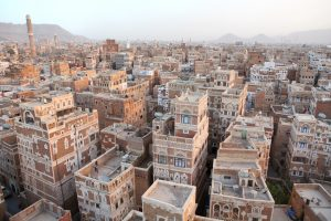 Sana'a Yemen città vecchia