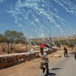 gas lacrimogeni bil'in cisgiordania
