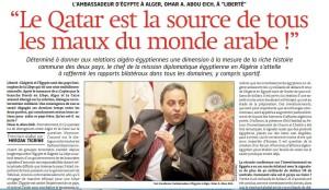 """Qatar: """"amico"""" per l'Algeria, """"fonte di tutti i mali"""" per l'Egitto"""