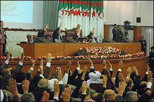 algeria parlamento